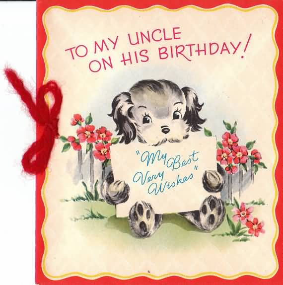 Fabulous E Card Birthday Wishes For Best Uncle
