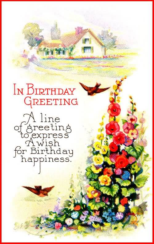 Fabulous Painting Birthday Message For Someone Special Greetings