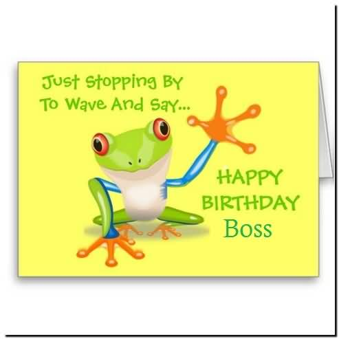 Funny E Card Birthday Wishes For Boss