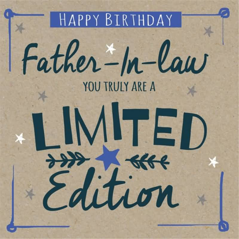 Good E-Card Birthday Wishes For Father In Law