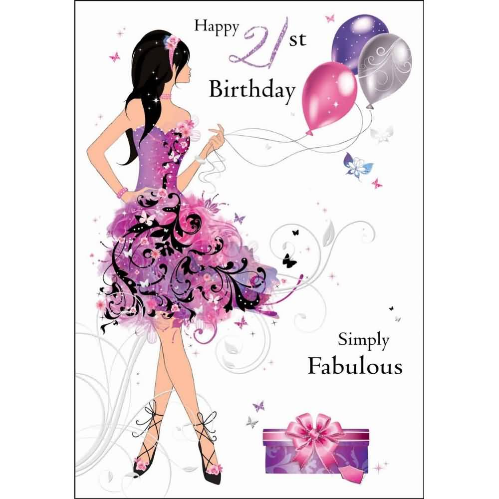 st birthday wishes, Birthday card