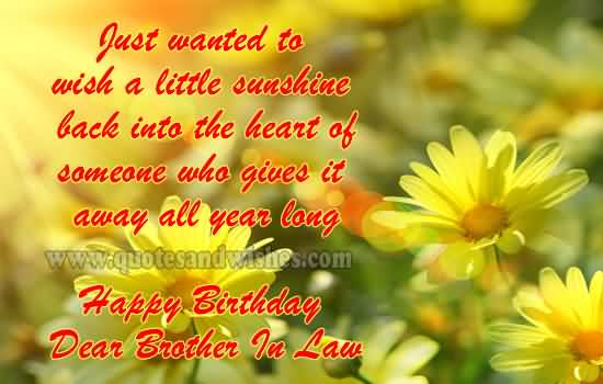 Lovely flower birthday wishes for dear brother in law e card lovely flower birthday wishes for dear brother in law e card bookmarktalkfo Image collections
