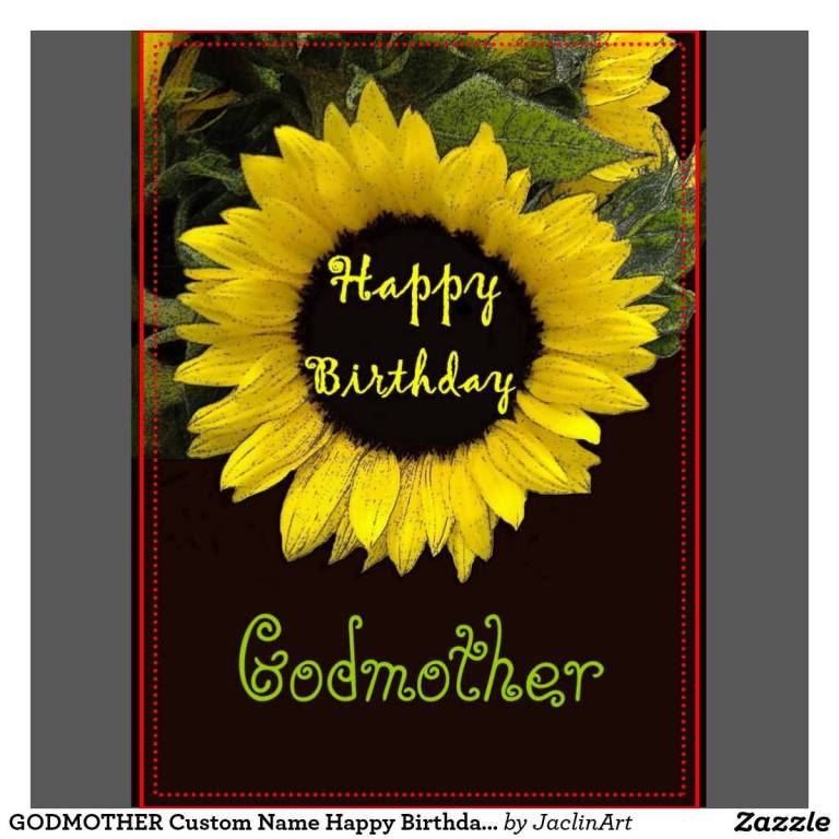 Lovely Flower Birthday Wishes For Godmother