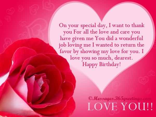 Birthday wishes for someone special happy birthday quotes lovely heart birthday message for someone special greetings m4hsunfo