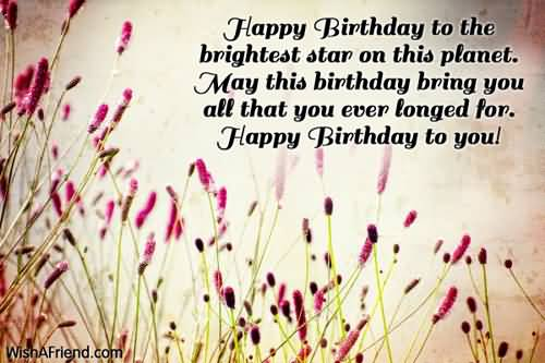 Lovely Quotes E-Card Birthday Wishes For Far Away