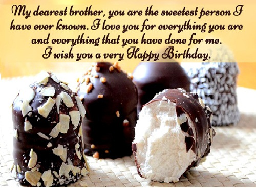 Mind Blowing Birthday Wishes For Elder Brother