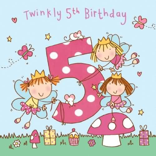 Birthday Wishes For Girls Page 9 Nicewishes Com Happy 5 Birthday Wishes