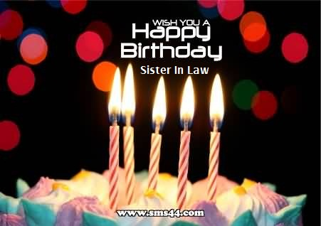 Birthday Cake Wishes For Sister In Law Cake Recipe