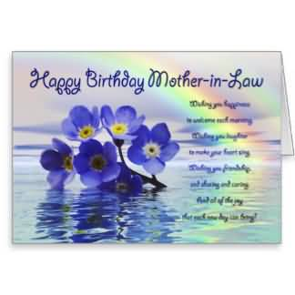Nice Birthday Wishes For Mother In Law Greetings