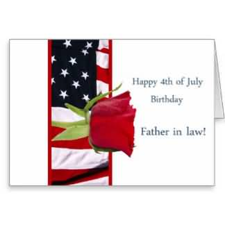 Nice E-Card 4th Birthday Wishes For Father In Law