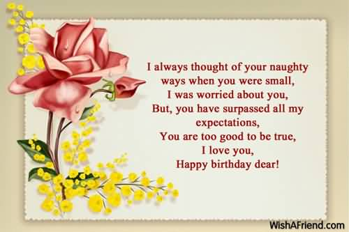 Nice Birthday Wishes For Daughter In Law ECard NiceWishes