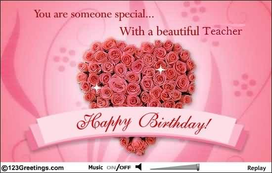 Birthday Wishes Quotes To Teacher : Images birthday wishes for teacher