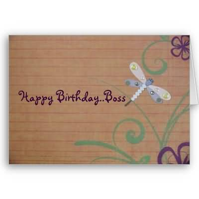 Nice Greetings Birthday Wishes For Boss