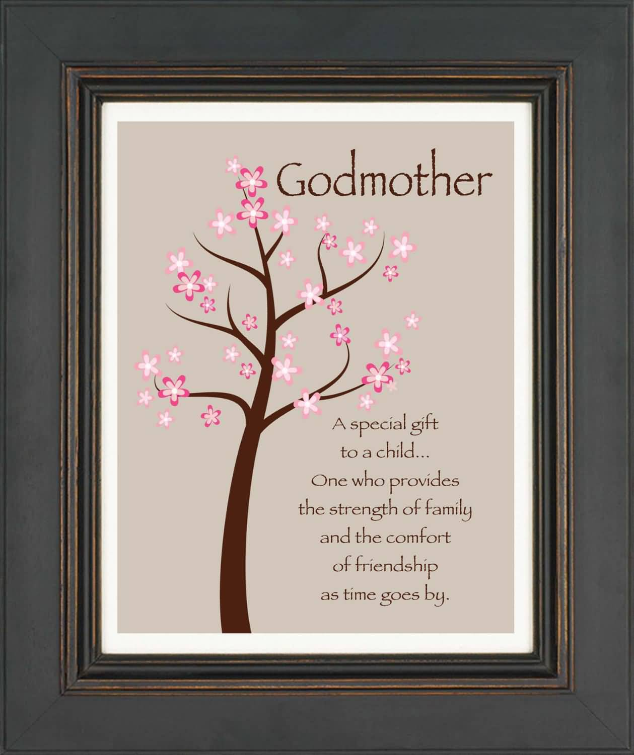 Nice Quotes Birthday Wishes For Godmother