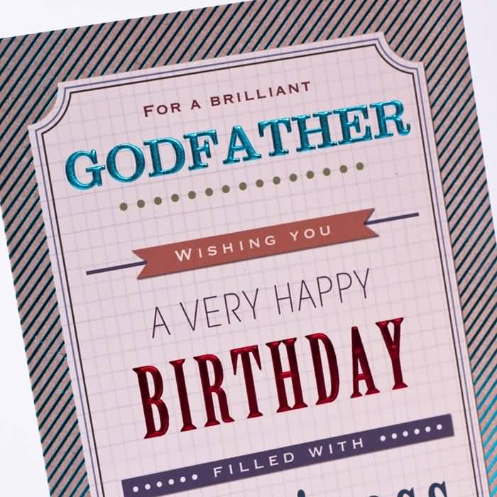 Normal Greetings Birthday Wishes For Brilliant Godfather