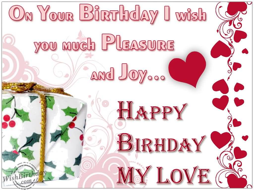 Birthday Wishes Lovers ~ Birthday wishes for lovers nicewishes