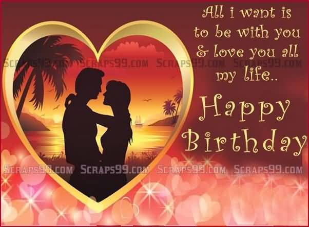 I Love You Wallpaper For Girlfriend : Romantic Greetings Birthday Wishes For Sweet Lover - NiceWishes