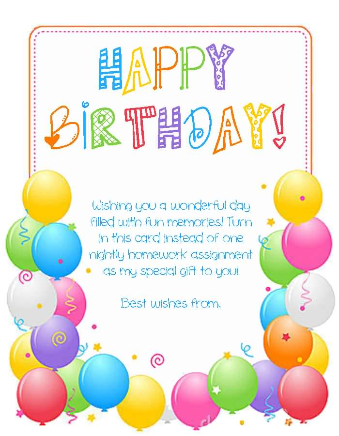 birthday wishes for teacher  page 10  nicewishes