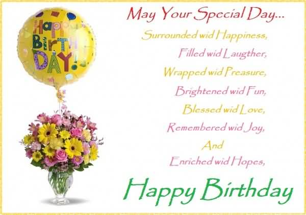Special E Card Birthday Poems For Someone Special Nicewishes