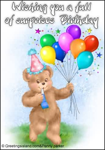 Special E-Card Surprise Birthday Wishes For Lover