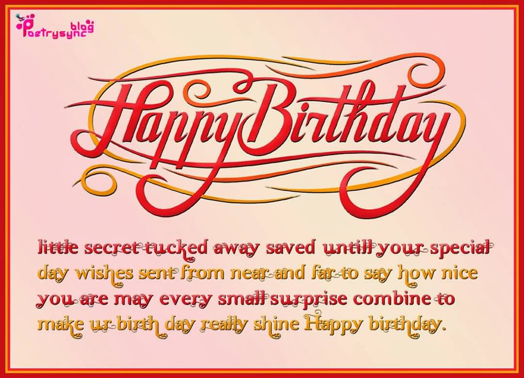 Superb E-Card Birthday Wishes For Far Away