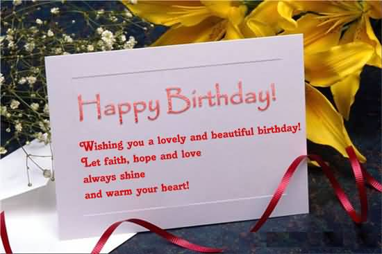 Sweet Birthday Wishes For Boss E-Card