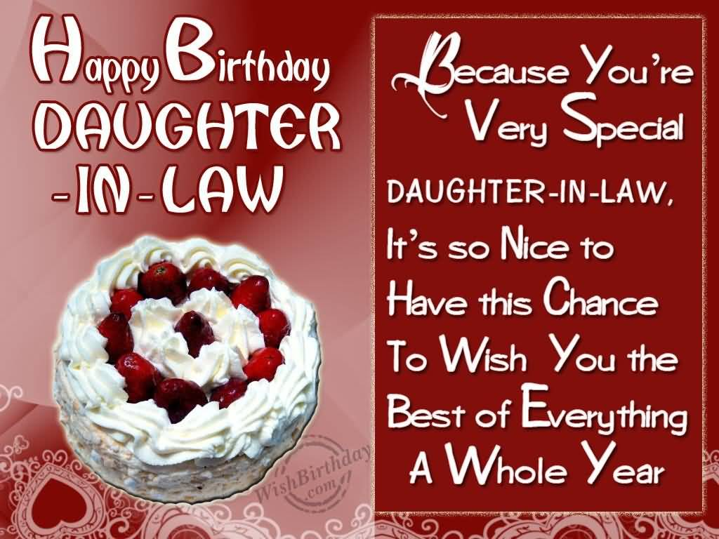 birthday wishes for daughter in law. Black Bedroom Furniture Sets. Home Design Ideas