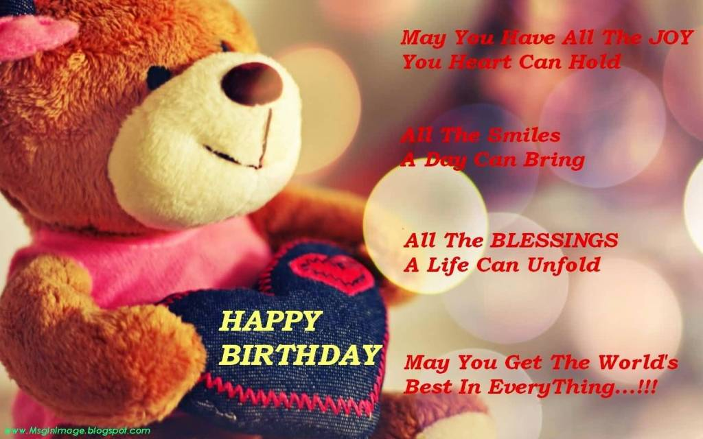 Sweet Teedy Birthday Sayings For Fiance E-Card