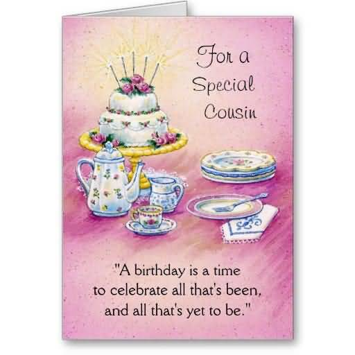 traditional e card birthday wishes for special cousin