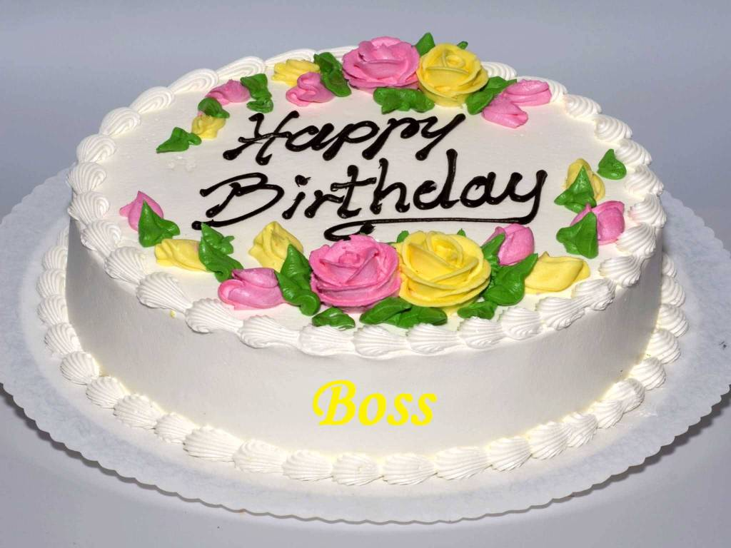 Images Of Cake For Birthday Wishes : Birthday Wishes For Boss Page 2 Nicewishes.com