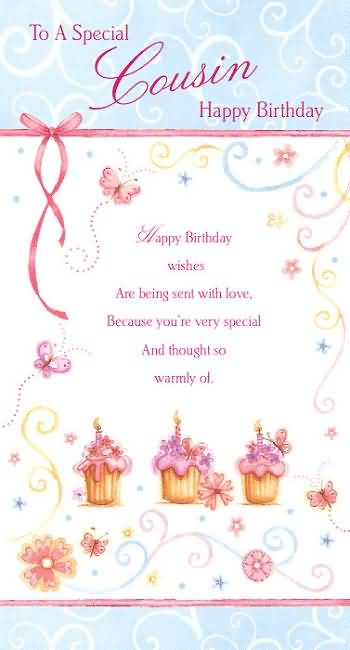 Wonderful Greetings Birthday Wishes For Special Cousin Nice Wishes