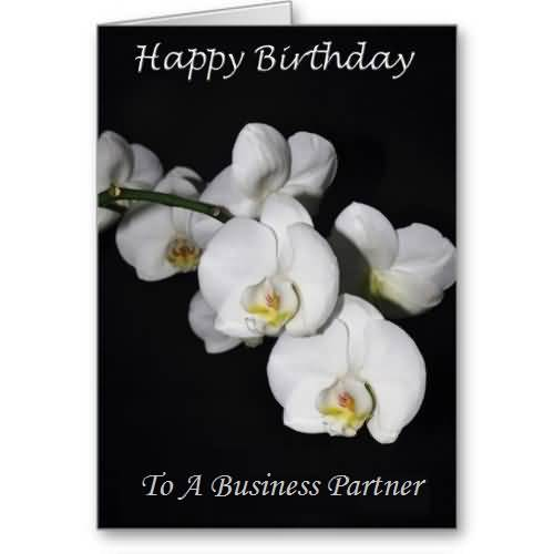 Great greetings birthday wishes for business partner