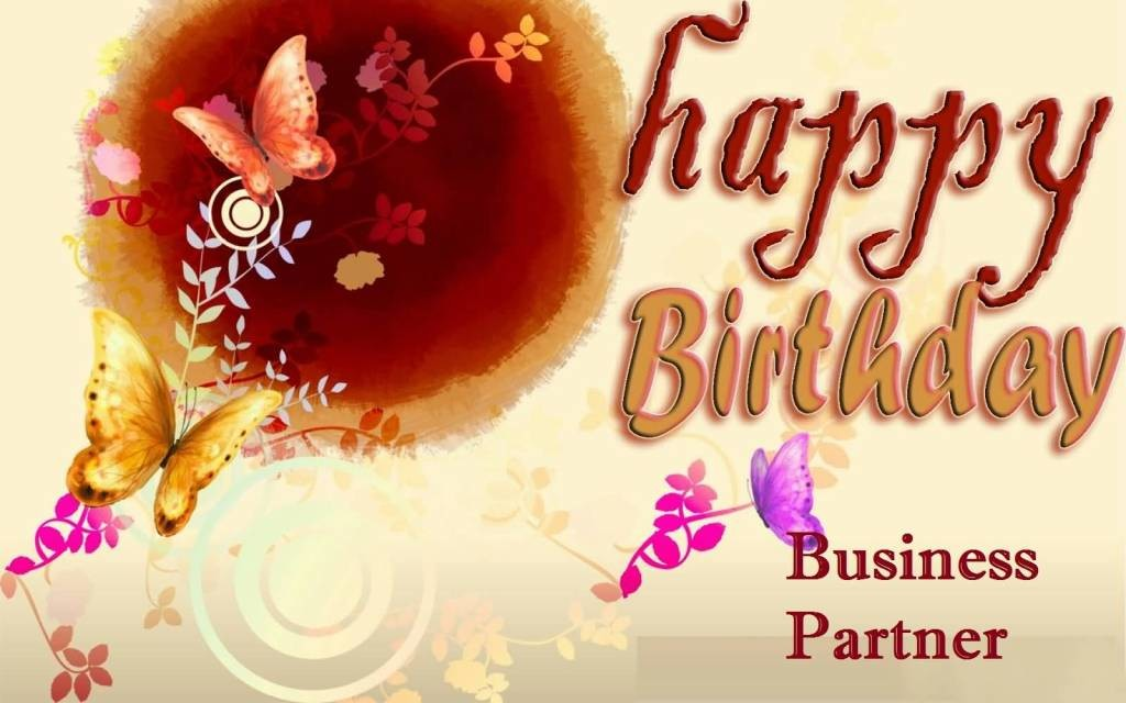 Lovely Greetings Birthday Wishes For Business Partner