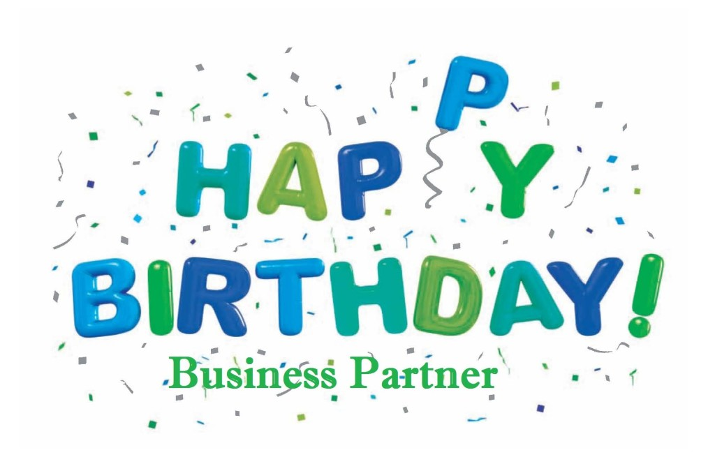 Nice Scrap Birthday Wishes For Business Partner