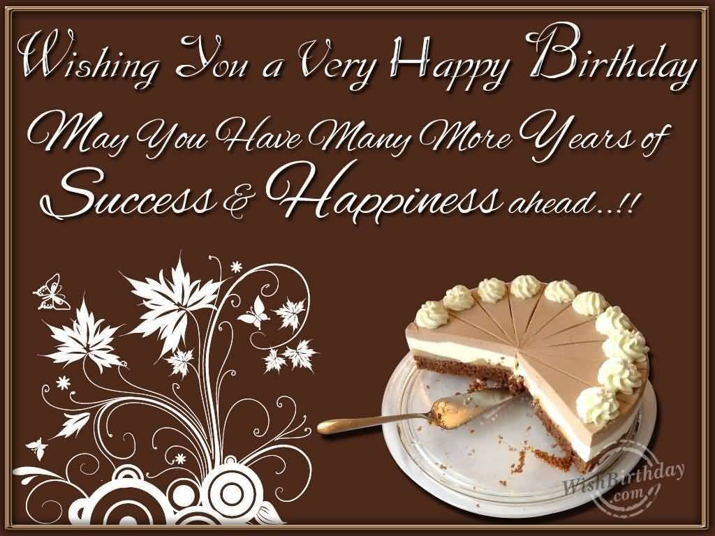 Wonderful Greetings  Birthday Wishes For Business Partner