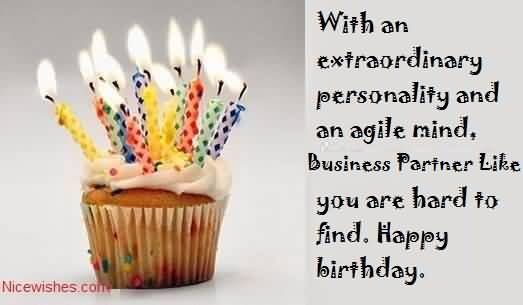 Nice Greetings Birthday Wishes For Business Partner NiceWishes – Business Birthday Greetings
