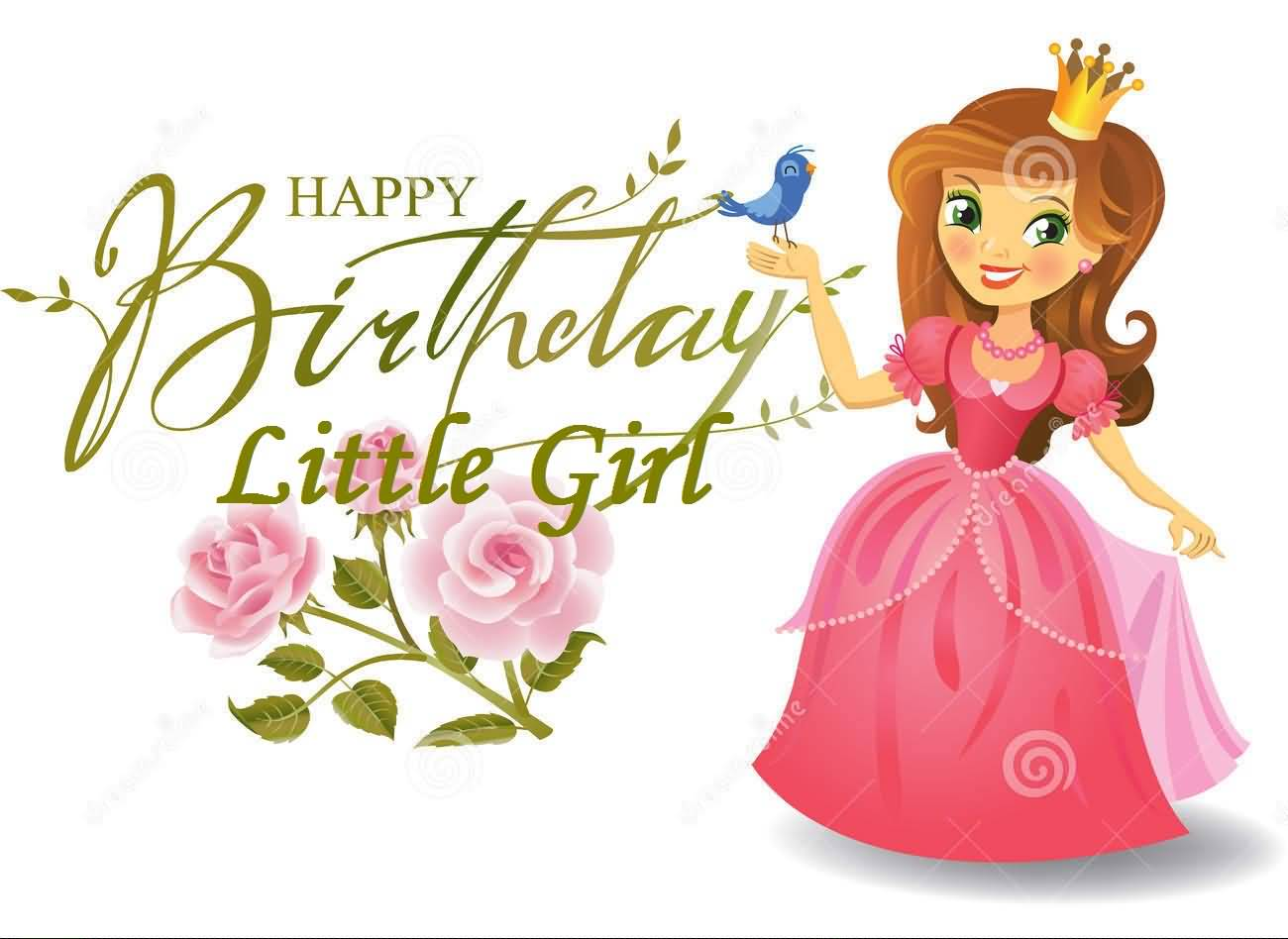 Amazing E-Card Birthday Wishes For Little Girl - NiceWishes