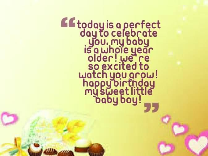 Awesome Birthday Wishes For Baby Boy Greetings