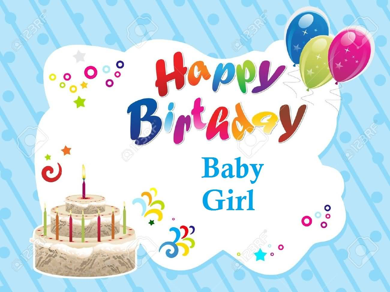 Birthday Wishes For Baby Girl, eCards + (Images) : Page 16