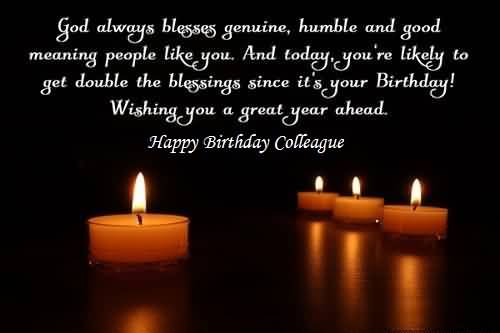 Awesome Birthday Wishes For Colleague ECard NiceWishes – Awesome Birthday Greetings