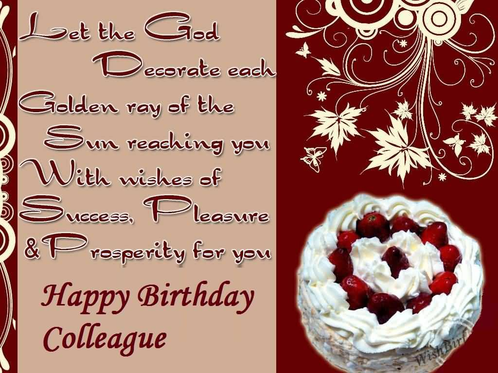 Colleague Birthday Wishes Nicewishes Com Page 13 Happy Birthday Awesome Wishes