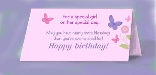 Best E-Card Birthday Wishes For Baby Girl