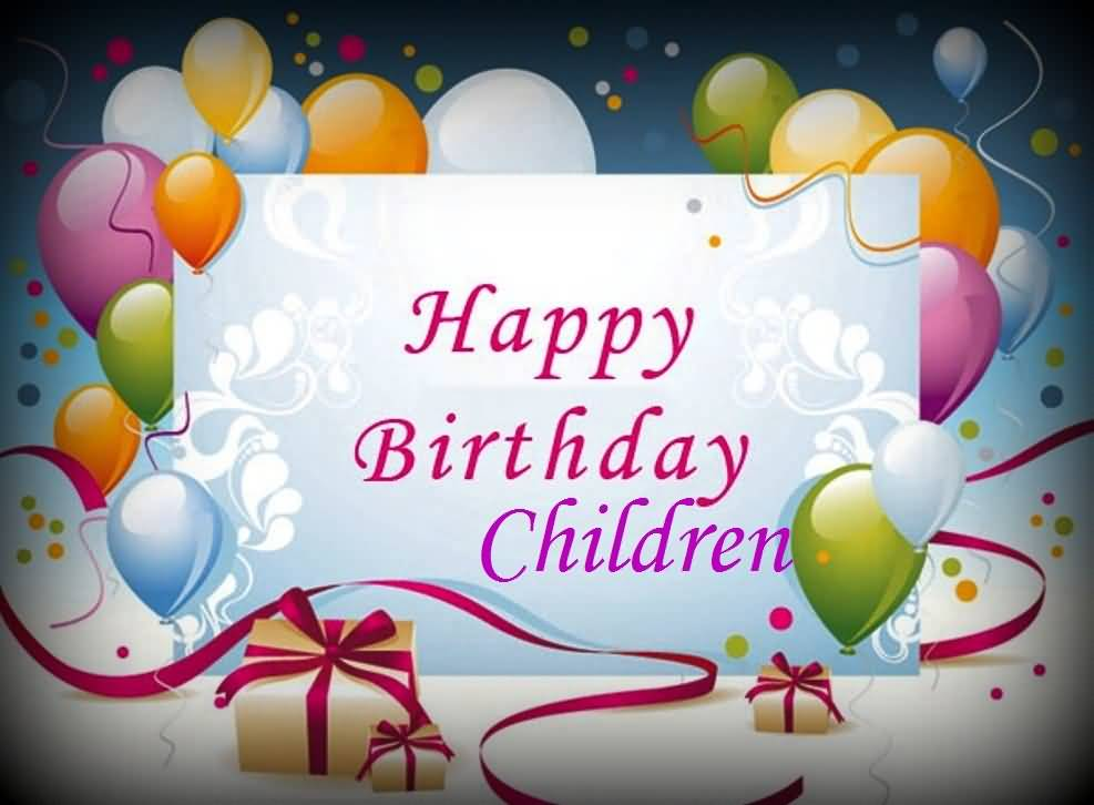 Best E-Card Birthday Wishes For Children