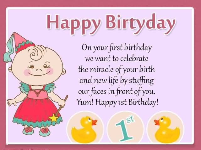 (152 images) Birthday Wishes For Little Girl – Cutest ...