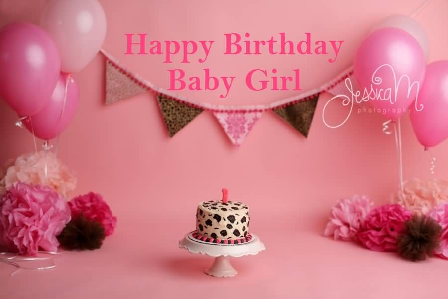 1st Happy Birthday Wishes For Baby Girl Happy Birthday Wishes For Baby
