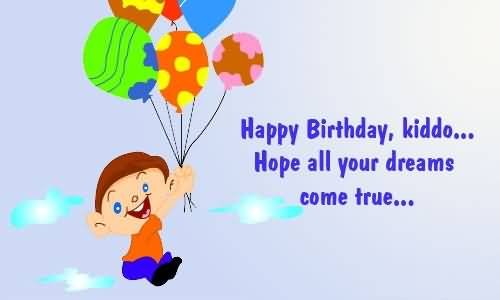 Fabulous E-Card Birthday Wishes For Children