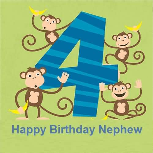 Funny 4th Birthday Wishes For Nephew E Card Nice Wishes