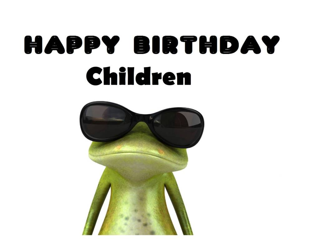 Funny Birthday Wishes For Children E-Card