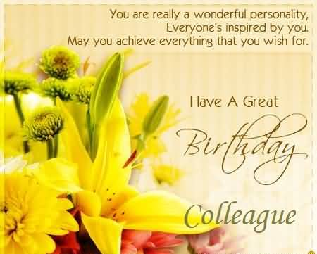 Great e card birthday wishes for colleague nicewishes great e card birthday wishes for colleague m4hsunfo