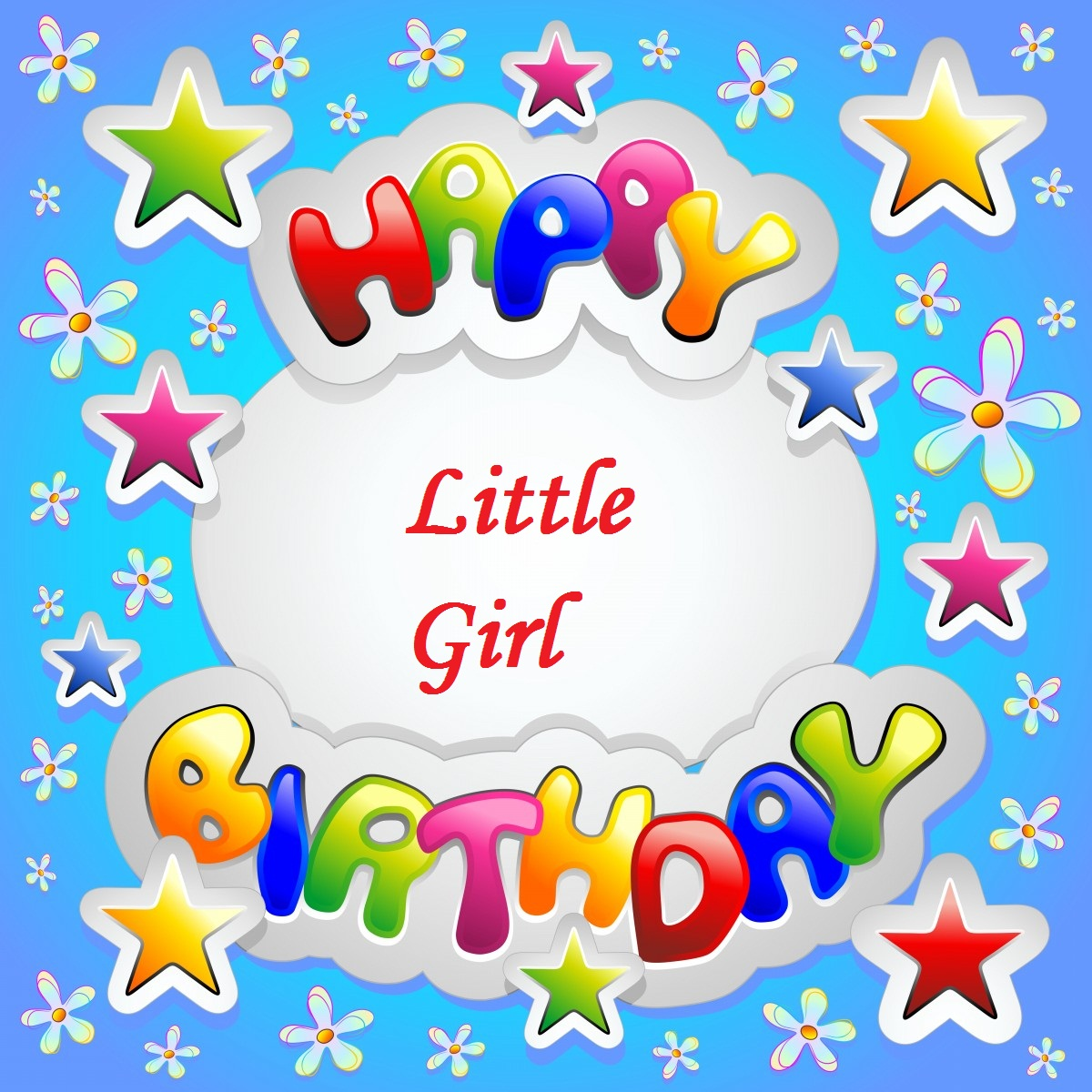 Lovely Greetings Birthday Wishes For Little Girl